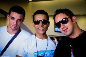 Amigos TwitCélula e AcompanheoDT (Alekssander Aragão e Rafael Salas)