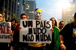Junho de 2013, São Paulo - maior metrópole da América Latina